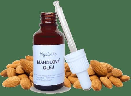 Mandlový přírodní olej od Mydlinky